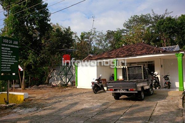 Gedung Klinik Asy Syifa di Jatirejo Girimarto Wonogiri