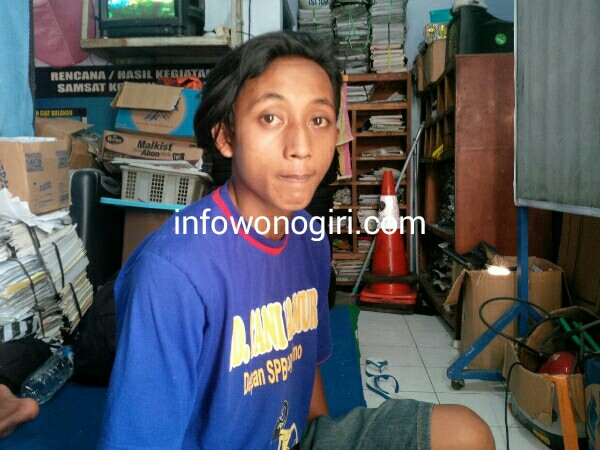 Danang,supir truk yang menewaskan 3 orang di jurang Brenggolo