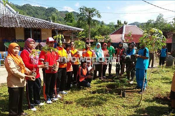 Gerakan Perempuan Tebar, Tanam dan Pelihara Pohon 2016 Di Dusun Bibit Desa Sendangsari Kecamatan Batuwarno