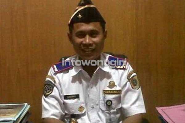 H. Ismiyanto Kepala Dishub Kab Wonogiri