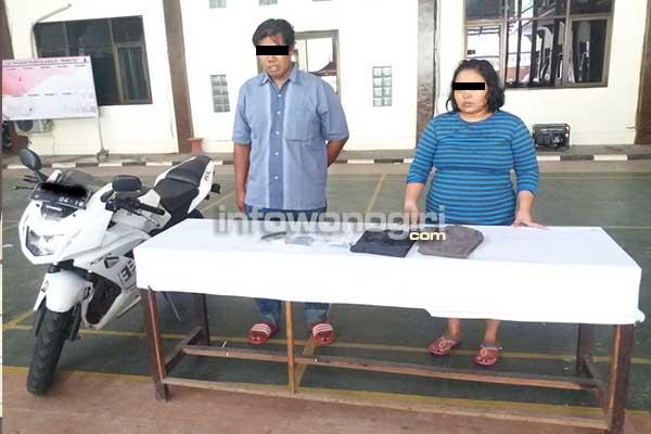 Triyono (30th) Mucikari dan  Cristiana Wahyu Andayani (29th) Mami tersangka