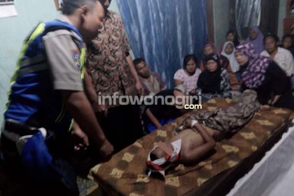 Irwan Fauzi Ihdiar (8th) siswa SDN Nadi 2 Bulukerto tewas tenggelam di Kali Biru Dusun Nadi Kidul
